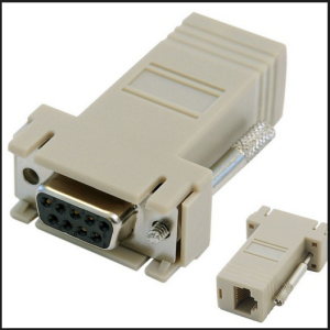 Adapter DB9 to RJ45