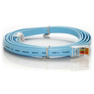 RJ45 to RJ45 console cable